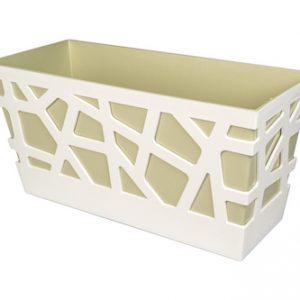 Mosaic flowerbox 40x17x20 - colour 604